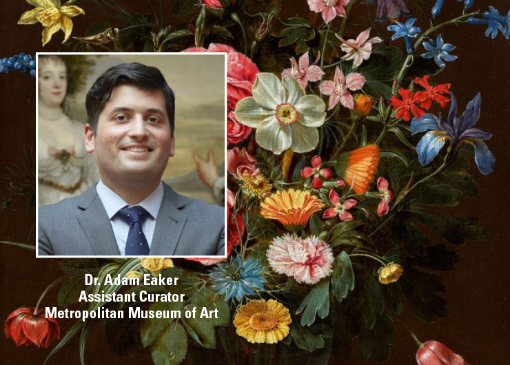 Explore Northern European Flower Painting with Adam Eaker '16 GSAS