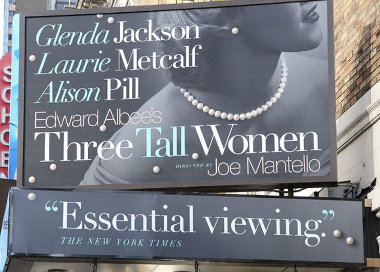 "Theater Afternoon ""Three Tall Women"""