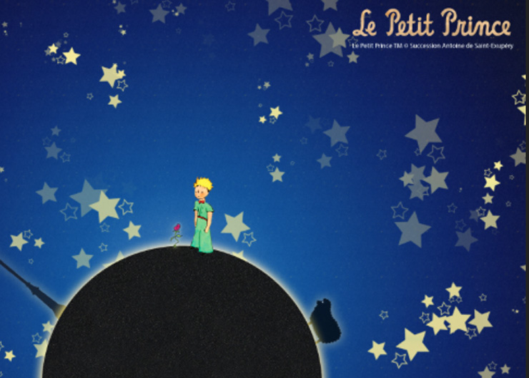 The Little Prince 70th Anniversary Gift Set Book and CD Antoine de Saint-Exupéry